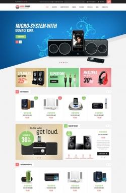 Audio Stores PrestaShop