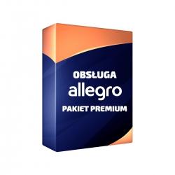Obsługa allegro pakiet Premium 60 aukcji